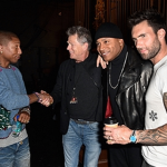 David Foster -  Music makers talking music… great hang with Pharrell Williams, LL Cool J and Adam Levine.