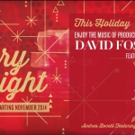 "David Foster album ""Merry & Bright"" will be available at Starbucks starting 11.11.2014"